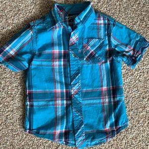 Arizona short sleeve button up shirt